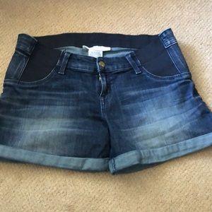 3/$20 - Liz Lange midi maternity jean shorts sz S